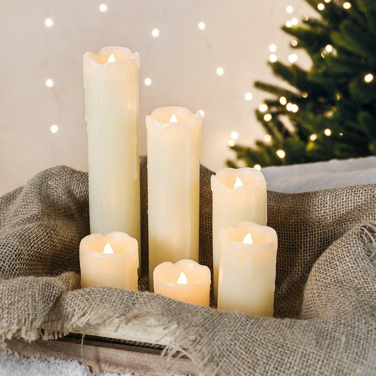 Noël : 5 idées de centres de table à faire avec des bougies…